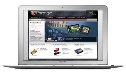 New Prestigio Website