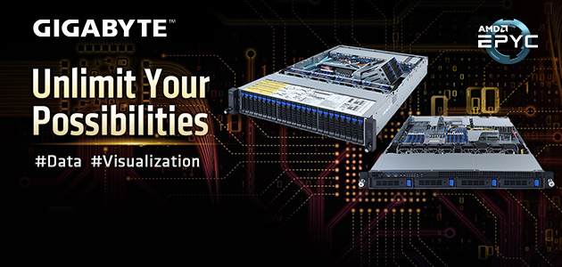 GIGABYTE Announces Rack Servers with Expanded DIMM Slots and New Internal Storage/Expansion Slot