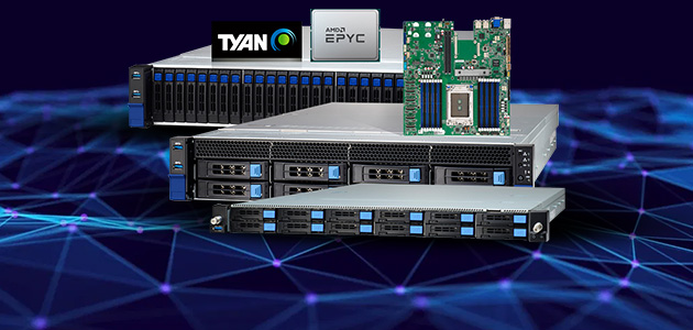 TYAN Launches AMD EPYC™ 7002 Series Processor-Based HPC and
