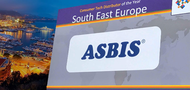 "ASBIS named ""Distributor of the Year"" at ""ECA: 2018 Awards"""