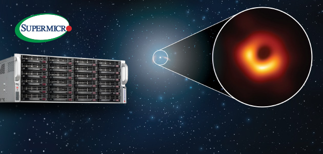 Supermicro Systems Help Capture the First Ever Images of a Black Hole