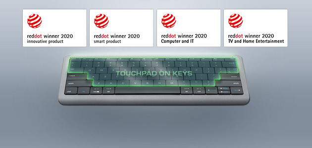 Prestigio Click&Touch emerged victorious from the Red Dot award