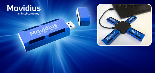 Intel Democratizes Deep Learning Application Development with Launch of Movidius Neural Compute Stick