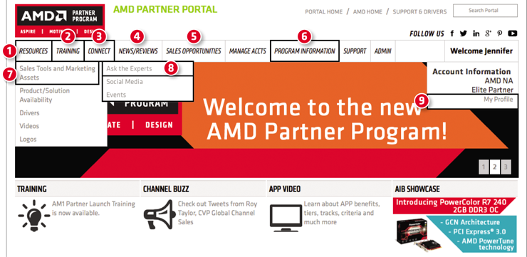 Welcome to the new AMD Partner Program