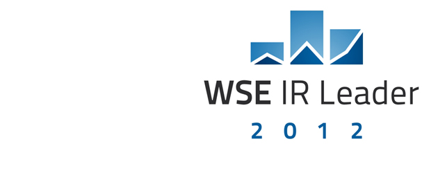 "ASBIS wins the ""WSE IR Leader Competition"""