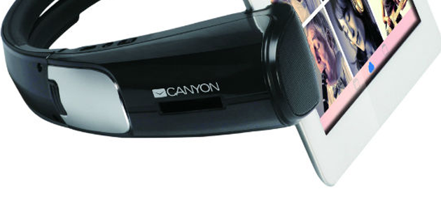 To see and listen! Canyon has presented a perfect multimedia gadget for tablet users