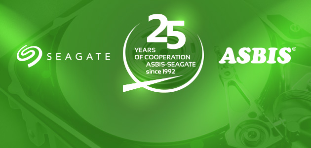 ASBIS celebrates 25 years of distribution partnership with Seagate