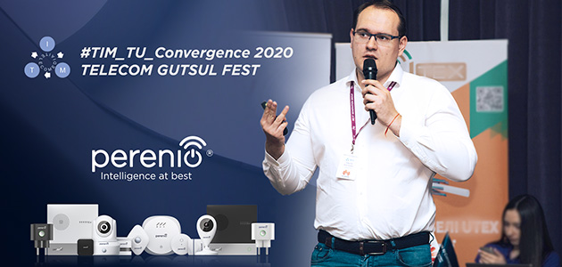 Perenio IoT spoke about the benefits of collaboration to mobile operators at #TIM-TU Convergence 2020