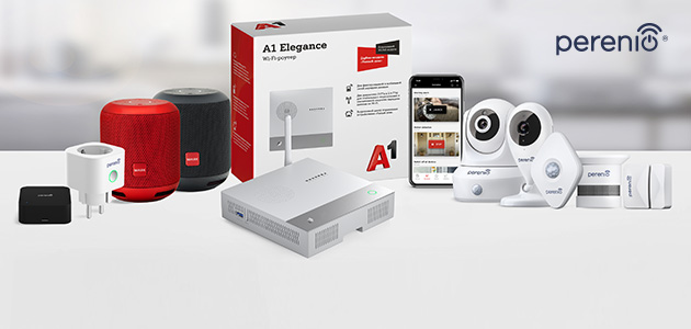 Perenio IoT and A1 announce the launch of the A1 Smart Home project in Belarus